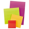 Pads in Marrakesh Colors, Assorted Sizes, Lined & Plain, 45-Sheet, 4/Pack