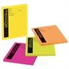 Self-Stick Message Pad, 3 7/8 x 4 7/8, Rio de Janeiro Colors, 50-Sheet, 4/Pack