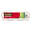 "Scotch Sure Start Packaging Tape, 1.88"" x 54.6yds, 3"" Core, Clear, 3/Pack"