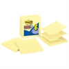 Pop-up Notes Refill, Lined, 4 x 4, Canary Yellow, 90-Sheet, 5/Pack