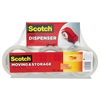 "Scotch Moving & Storage Tape, 1.88"" x 54.6yds, 3"" Core, Clear, 6/Pack"