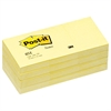 Post-it Original Pads in Canary Yellow, 1 1/2 x 2, 100-Sheet, 12/Pack