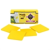 Post-it Full Adhesive Notes, 3 x 3, Electric Yellow, 25-Sheet, 12/Pack