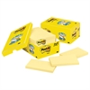 Original Pads in Canary Yellow, Cabinet Pack, 3 x 5, 90-Sheet, 18/Pack