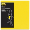 Post-it Big Pad, 11 x 11, Bright Yellow, 30-Sheet