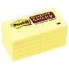Post-it Canary Yellow Note Pads, 2 x 2, 90-Sheet, 10/Pack