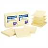Self-Stick Pop-Up Notes, 3 x 3, Yellow, 100-Sheet, 12/PK