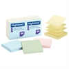 Self-Stick Pop-Up Notes, 3 x 3, Assorted Pastel, 100-Sheet, 12/Pack
