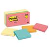 Post-it Original Pads Value Pack, 3 x 3, Canary Yellow/Cape Town, 100-Sheet, 14 Pads