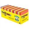 Post-it Pads in Marrakesh Colors, 3 x 3, 70-Sheet, 24/Pack