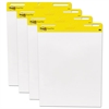 Post-it Self Stick Easel Pads, 25 x 30, White, 4 30 Sheet Pads/Carton