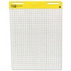 Post-it Self Stick Easel Pads, Quadrille, 25 x 30, White, 2 30 Sheet Pads/Carton