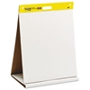 Post-it Self Stick Tabletop Easel Unruled Pad, 20 x 23, White, 20 Sheets