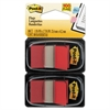 Post-it Standard Page Flags in Dispenser, Red, 100 Flags/Dispenser