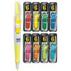 "Arrow 1/2"" Page Flags, Eight Assorted Colors, 24/Dispenser, 50/Flag Highlighter"
