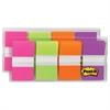 Post-it Page Flags in Portable Dispenser, Bright, 160 Flags/Dispenser