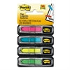 "Post-it Arrow 1/2"" Page Flags, Four Assorted Bright Colors, 24/Color, 96-Flags/Pack"