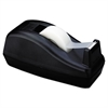 "Scotch Deluxe Desktop Tape Dispenser, Attached 1"" Core, Heavily Weighted, Black"