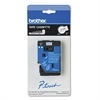 "Brother P-Touch TC Tape Cartridge for P-Touch Labelers, 3/8""w, Black on White"