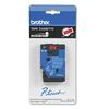 "Brother P-Touch TC Tape Cartridge for P-Touch Labelers, 1/2""w, Black on Red"