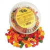 Office Snax Gummy Bears, Assorted Flavors, 2 lb Tub