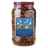 Office Snax Pretzel Assortment Old Fashioned Mini-Pretzel Twists, 40oz Tub