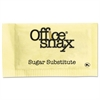 Office Snax Yellow Sweetener, 2000 Packets/Carton
