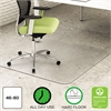 deflecto EnvironMat Recycled Anytime Use Chair Mat for Hard Floor, 46 x 60, Clear