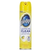 Pledge Furniture Polish, Lemon, 9.7 oz, Aerosol, 12/Carton