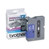 "Brother P-Touch TX Tape Cartridge for PT-8000, PT-PC, PT-30/35, 3/4""w, Black on Clear"