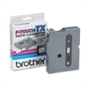 "Brother P-Touch TX Tape Cartridge for PT-8000, PT-PC, PT-30/35, 1/2""w, Black on White"