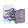 "Brother P-Touch TX Tape Cartridge for PT-8000, PT-PC, PT-30/35, 1""w, Red on White"