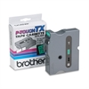 "Brother P-Touch TX Tape Cartridge for PT-8000, PT-PC, PT-30/35, 1""w, Black on Green"
