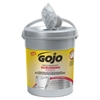 GOJO Scrubbing Towels, Hand Cleaning, Fresh Citrus, 10 1/2 x12, 72/Canister