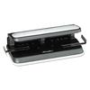 "Swingline 32-Sheet Easy Touch Two-to-Seven-Hole Punch, 9/32"" Holes, Black/Gray"