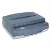 "50-Sheet 350MD Electric Three-Hole Punch, 9/32"" Holes, Gray"