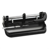 "Swingline 32-Sheet Lever Handle Two-to-Seven-Hole Punch, 9/32"" Holes, Black"