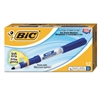 BIC Great Erase Grip Fine Point Dry Erase Marker, Blue, Dozen