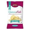 glenny's Quinoa & Kale Gluten Free Multi Grain Chips, Salt & Vinegar, 5 oz Bag, 12/Carton