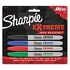 Extreme Marker, Fine Point, Assorted, 4/Set