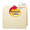 Smead Seal & View File Folder Label Protector, Clear Laminate, 3-1/2x1-11/16, 100/Pack
