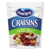 Ocean Spray Craisins Trail Mix, Cranberry, 8 oz Bag, 12/Carton