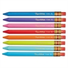 Mates Mechanical Pencils, 1.3 mm, Assorted, 8/Pack