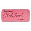 Paper Mate Pink Pearl Eraser, Large, 3/Pack