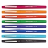 Point Guard Flair Needle Tip Stick Pen, Assorted Ink, .7mm, 8/Set
