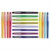 Point Guard Flair Needle Tip Stick Pen, Assorted Ink, .7mm, 16/Pack