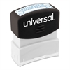 Universal Message Stamp, SCANNED, Pre-Inked One-Color, Blue