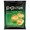 popchips Potato Chips, Sour Cream & Onion Flavor, .8 oz Bag, 24/Carton