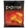 popchips Potato Chips, BBQ Flavor, .8 oz Bag, 24/Carton