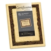 Southworth Foil-Enhanced Parchment Certificate, Brown w/Brown/Gold Foil, 8 1/2 x 11, 15/PK